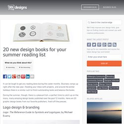 20 new graphic design books for your summer reading list - The Creative Edge