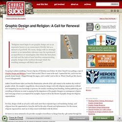 Graphic Design and Religion: A Call for Renewal | Church Marketing Sucks