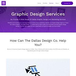 Graphic Design Services In Dallas – Custom Logos & Branding