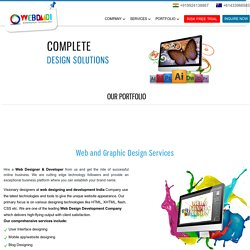 Web & Graphic Design Services India