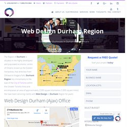 Web Design and Graphic Design Services Durham Region, Ontario