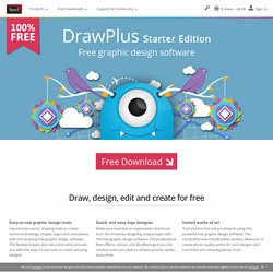 Free Graphic Design Software – DrawPlus Starter Edition from Serif