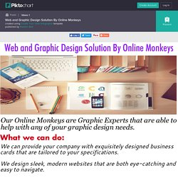 Web and Graphic Design Solution By Online Monkeys