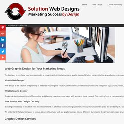Web Graphic Artists Solution Web Designs Graphic Design Services