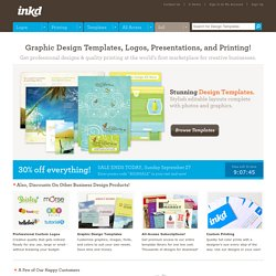 Buy and Sell Graphic Design Templates | Download Templates | Ink