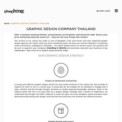 Graphic Design Company Bangkok, Thailand, Graphic Design Portfolio
