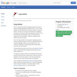 oryx-editor - Project Hosting on Google Code