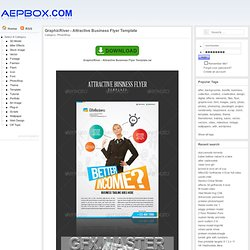 GraphicRiver - Attractive Business Flyer Template