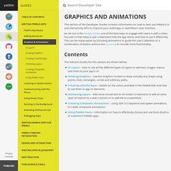 Graphics and Animations // Pebble Developers