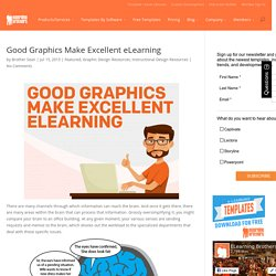 Good Graphics Make Excellent eLearning
