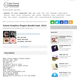 Astute Graphics Plugins Bundle Sept. 2014