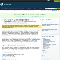 Graphics Programming Black Book - Graphics Programming and Theory