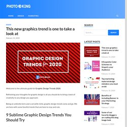 This new graphics trend is one to take a look at - PhotoADKing Blog