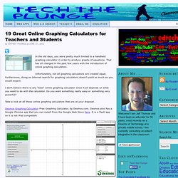 19 Great Online Graphing Calculators for Teachers and Students