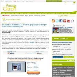 La place de marché de la création graphique 99designs lance sa version française