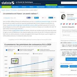 Graphique: L'e-commerce en France : un avenir radieux ?