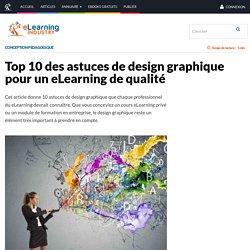 Top 10 des astuces de design graphique pour un eLearning de qualité - eLearning Industry