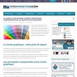 Le guide d'une bonne charte graphique - l'importance de la palette de couleurs