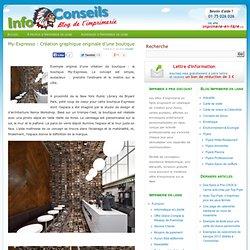 My-Expresso : Création graphique originale d'une boutique - Imprimerie en ligne