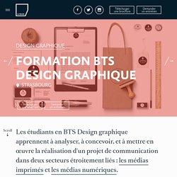 BTS Design graphique à Strasbourg en école d'arts appliqués