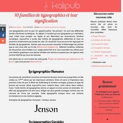 Identité graphique : Que signifie les typographies