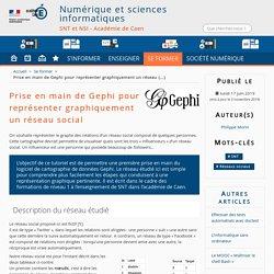Prise en main de Gephi pour représenter graphiquement un réseau social - Numérique et sciences informatiques