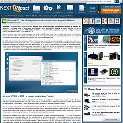 Windows 8.1 : des pilotes graphiques incomplets pour supporter Miracast - PC INpact
