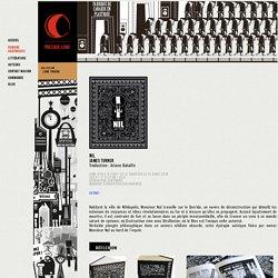 Nil - Presque Lune Editions, maison d'édition de romans graphiques littérature