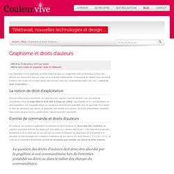 Graphisme et droits d'auteurs - Couleur Vive