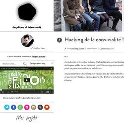 e par Geoffrey Dorne –Hacking de la convivialité !