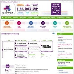 SUP' Graphisme & Design | EFFICOM Lille