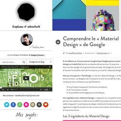Comprendre le «Material Design» de Google