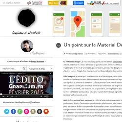 Design & graphisme par Geoffrey Dorne » Un point sur le Material Design