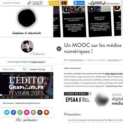 Un MOOC sur les médias numériques