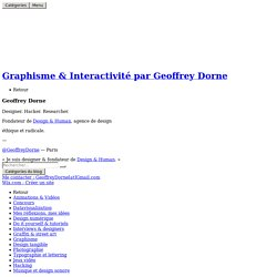 graphisme par Geoffrey DorneLes 10 grands principes du design par Dieter Rams! - Design & graphisme par Geoffrey Dorne