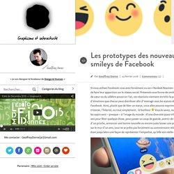 e par Geoffrey Dorne –Les prototypes des nouveaux smileys de Facebook