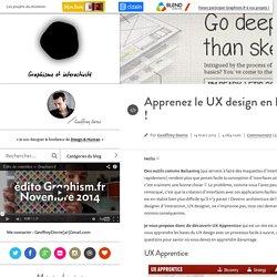 Apprenez le UX design en ligne !
