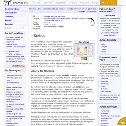 Scribus - Graphisme et audio-visuel