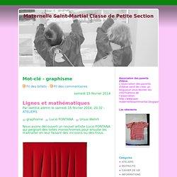 Mot-clé - graphisme - Maternelle Saint-Martial Classe de Petite Section