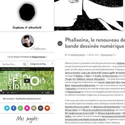 graphisme par Geoffrey Dorne –Phallaeina, le renouveau de la bande dessinée numérique