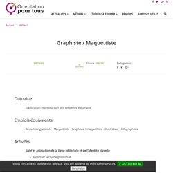 Graphiste / Maquettiste