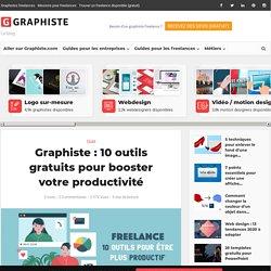 Graphiste: 10 outils gratuits pour booster votre productivité