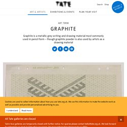 Graphite – Art Term