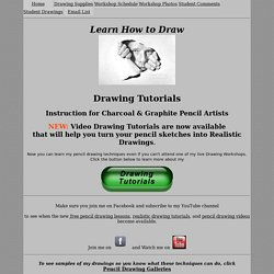 Learn to Draw - Graphite Pencil Drawing Tutorial.