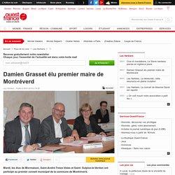 Damien Grasset élu premier maire de Montréverd