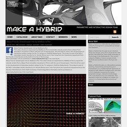 Maya Fluid to Grasshopper link by Matthijs la Roi