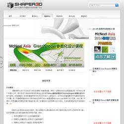 Saltamontes Diseño Paramétrico - Rhino (Rhino) apoyo técnico y promoción Center-Shaper3d