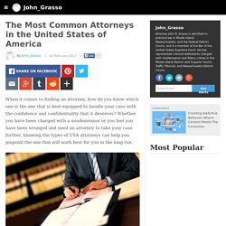 John_Grasso - The Most Common Attorneys in the United States of America