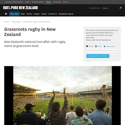 Grassroots rugby in New Zealand - Tourism New Zealand Media