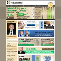 GrassrootsHealth | Vitamin D Action - GrassrootsHealth | Vitamin D Action
